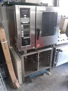 Henny Penny Gas Combi Oven Wit Stand Model Lcg6