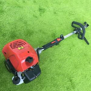 52cc Handheld Concrete Cleaning Sweeper Broom Driveway Artificial Grass Us Stock