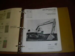 Case 880 Excavator Parts Catalog Manual