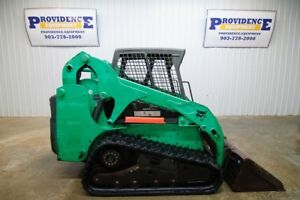 Bobcat T190 Track Skid Steer Loader Open Rops 61hp Tipping Load 6 851lbs