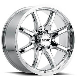 4rims 17 Mkw Wheels M202 Chrome Rims Fs
