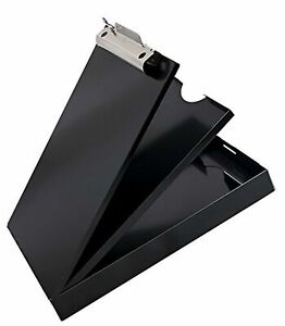 Saunders Black Cruiser mate Recycled Aluminum Storage Clipboard Letter Size