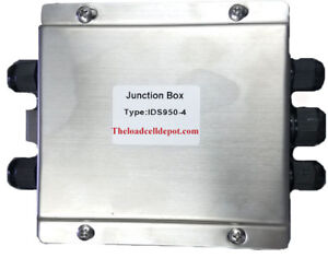 Livestock Scale Floor Scale Ids950 4 4 Way Summing Junction Box Stainless Steel