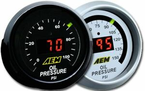 Aem 30 4407 Oil Pressure 0 150psi Digital Gauge