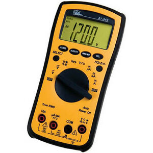 Ideal 61 342 Test pro Digital Multimeter With Trms