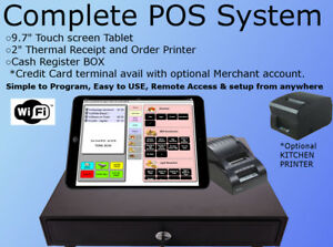 Complete Pos System Bar Restaurant Pizza Takeout Night Club Cafe Coffee Shop