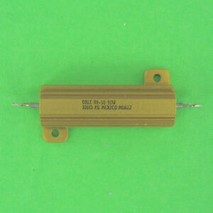 Dale Precision 100 Ohm 50w 1 Wirewound Power Resistor Axial Panel Chassis Mount