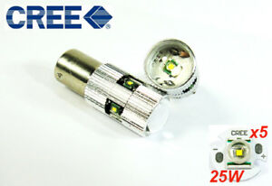 2x Cree Q5 Led 1156 Ba15s For Mb Mercedes Projector Back Up Reverse Light 50w