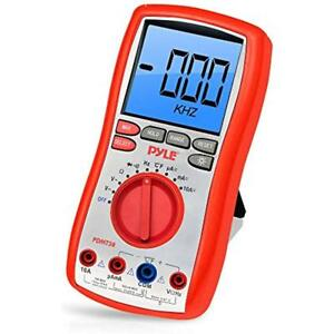 Digital Lcd Multi Testers Ac Dc Volt Current Resistance And Range With
