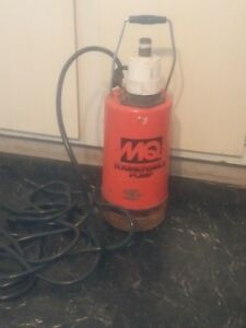 Multiquip St2005 Submersible 2 Water Pump 76 Gpm 1 2 Hp Tested Works Good