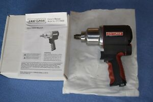 Craftsman 1 2 Impact Wrench Pneumatic 400lbs Torque New 16882