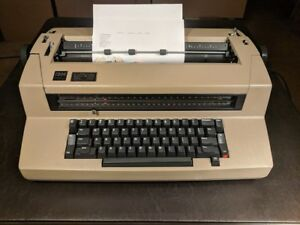 Vintage Ibm Correcting Selectric Iii Typewriter Tested Working