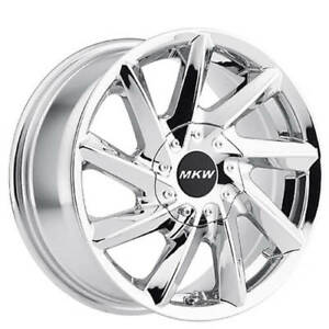 4rims 17 Mkw Wheels M115 Chrome Rims Fs