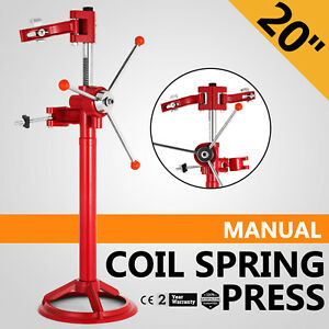 20 Hand Operate Strut Coil Spring Press Compressor Auto Good Stability Great