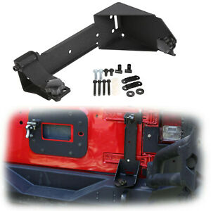 Rear Off Road Jack Mount Hood Mounting Bracket Fit Jeep Wrangler Jk 2007 2018