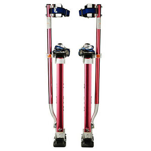 Professional 18 30 Red Drywall Painting Work Stilts 1118 Pentagon Tool New