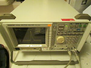 Advantest R3265a Spectrum Analyzer 100hz 8ghz