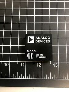 Analog Devices 41k Low Bias Fet Amplifier