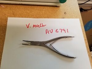 V Mueller Au 6791 Beyer Rongeur Forceps Surgical In Nice Condition