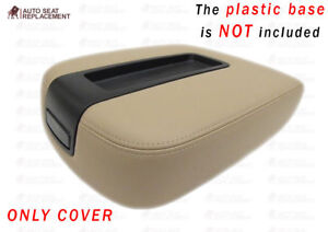 2007 2014 Gmc Yukon Sierra Center Console Lid Cover Tan Only Cover No Plastic
