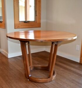 Vintage Mid Century Dining Extension Table By Adrian Pearsall For Lane 1964
