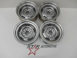 Chevy Rally Wheels 15x7 Chrome