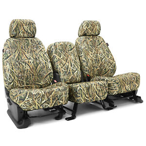 Coverking Mossy Oak Shadow Grass Blades Camo Seat Covers For Toyota Tacoma