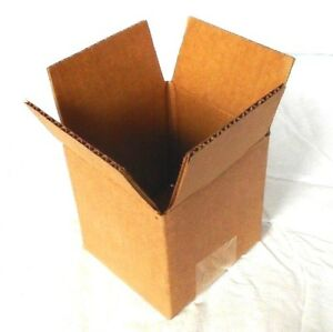 100 Pack Of 4 X 4 X 4 Corrugated Shipping Boxes Packing Moving