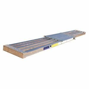 Aluminum Extension Plank 250 Lbs Capacity 8 13 Extension Plank 14 Wide