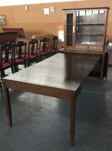Mid Century Modern Extension Dining Table Exstensole