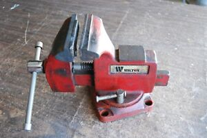 Wilton 4 Bench Vise Clrean Condition Needs Jaw Plate