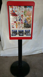 3 column Sticker Tattoo Flat vend Bulk Vending Machine