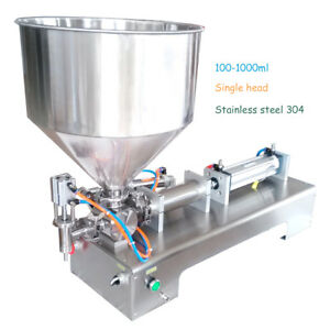 Automatic Filling Machine Honey cream cosmetic sauce tooth Paste 100 1000ml