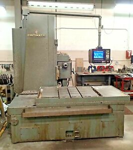 Cincinnati Cintimatic Cnc Horizontal Boring Mill Anilam Cnc 4th Axis
