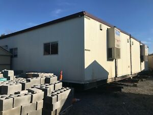 48x60 Mobile Modular Trailer Classroom Sales Office job site