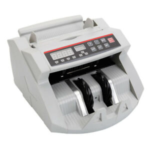 Money Counter Automatic Cash Currency Counting Machine Bill Register Examination