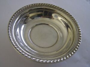 Vintage Sterling Silver Redlich And Company Candy Dish