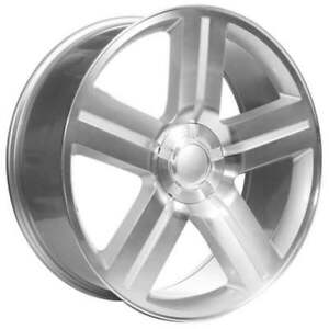 4new 28 Velocity Wheels 258 Texas Edition Silver Machined Rims Fs