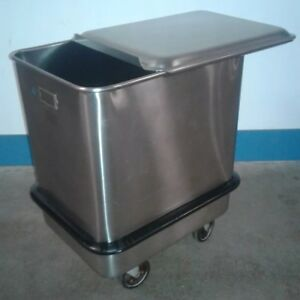Seco Commercial Stainless Steel Food Safe Flour Ingredient Rolling Bin
