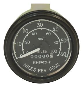 Crown Automotive 640131 Speedometer Assembly Fits 46 66 Cj3 Willys