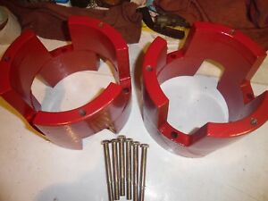 GRAVELY WALK BEHIND TRACTOR  DUAL  WHEEL SPACERS  WEIGHTS   GAS ENGINE