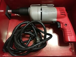 Milwaukee 6760 1 Screw Gun With Screwshooter Kit No 6767 1 Complete Usa