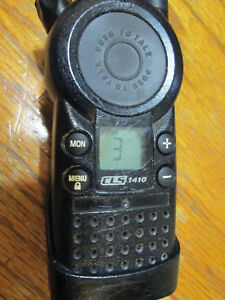 Motorola Cls1410 Uhf Ht 4 Channel Business Band Radio Cls1110
