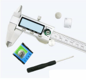 All Metal Stainless Steel Electronic Vernier Caliper Digital Caliper Digital Dis