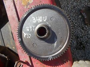 International 340 Utility Tractor Ih Pto Power Take Off Main Drive Gear 79 Teeth