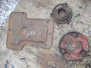 Cockshutt 30 Tractor Original Rear Transmission 3 Housing Cover Panel Panels