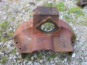 Cockshutt 30 Tractor Starter Holder Transmission Flywheel Cover