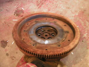 Cockshutt 30 Tractor Original Engine Flywheel And Ring Gear In Good Shape