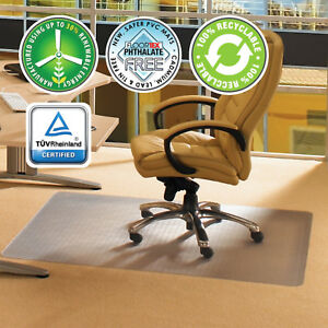 48 X 60 Desk Mat Office Carpet Protector Plastic Chair Floor Chair mat Durable