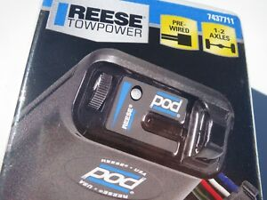 New Latest Model Reese Towpower Pod Electric Brake Control Model 7437711